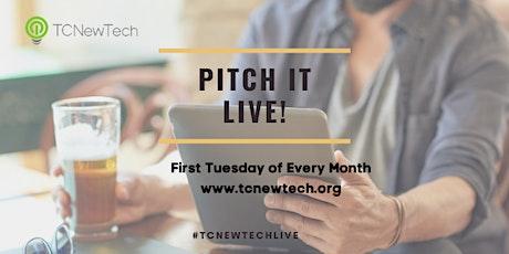 TCNewTech Pitch Event November 3, 2020 Tickets