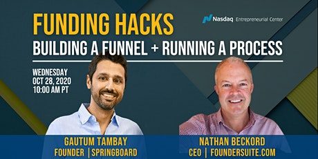 Funding Hacks: Building a Funnel + Running a Process to Raise $31M tickets
