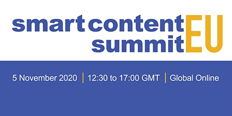 Smart Content EU 2020 tickets