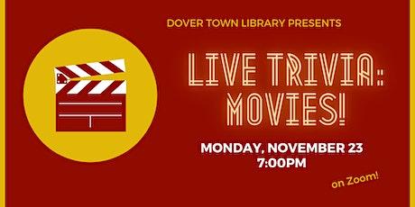 Live Trivia: Movies! tickets