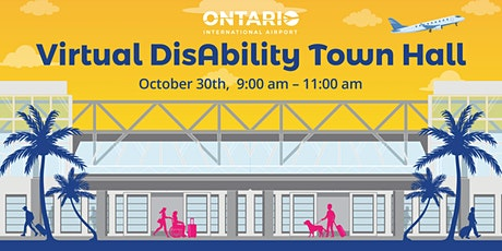 ONT Virtual Disability Town Hall tickets
