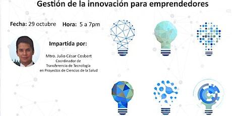 Gestión de la innovación para emprendedores entradas