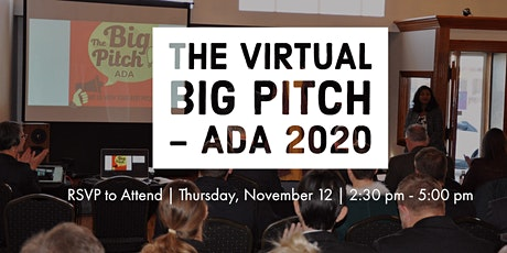 The Big Pitch Ada, 2020 tickets