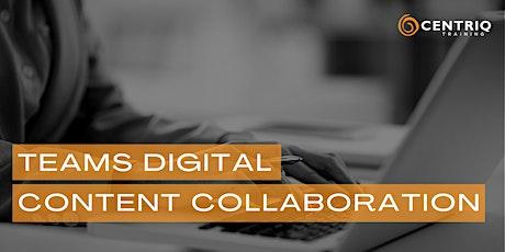 Teams Digital Content Collaboration presented by Centriq biglietti
