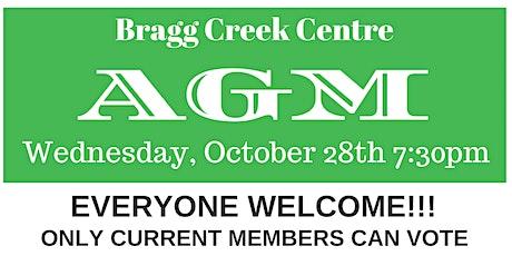 Bragg Creek Community Association AGM tickets