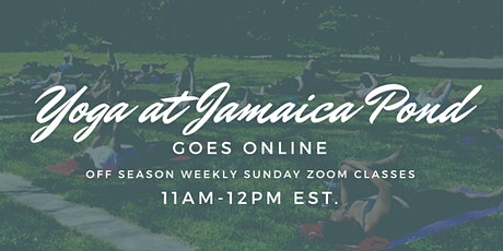 Yoga at Jamaica Pond Goes Online | Off Season Weekly Zoom Classes tickets