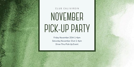 November Pick-Up Party tickets