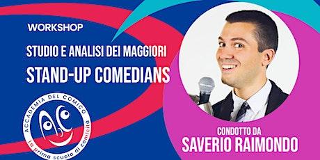 Studio e analisi Stand-Up Comedians biglietti