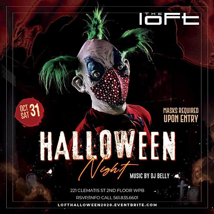 HALLOWEEN NIGHT @ The Loft   Saturday Oct 31st image