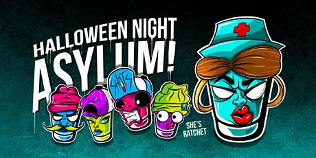SHOTS Asylum for Halloween in Downtown Orlando tickets