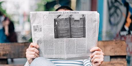 Business Law Basics - Webinar tickets