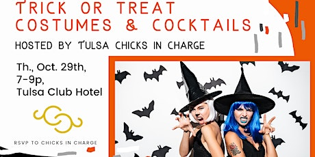 Tulsa Trick or Treat Costumes & Cocktails tickets