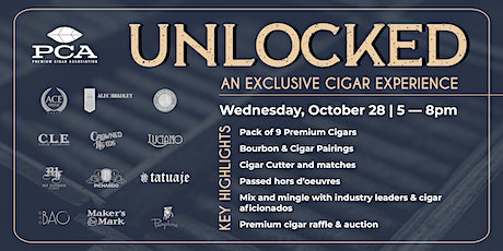 Unlocked: An Exclusive Cigar Experience tickets