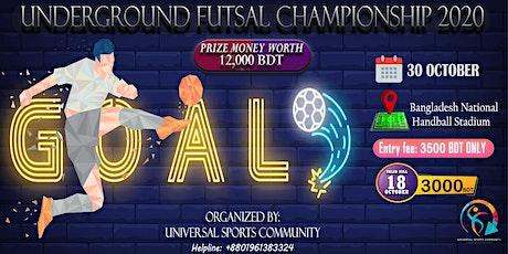 USC Presents Underground Futsal Championship 2020 tickets