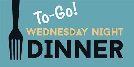 Wednesday Night Dinners: October 28, Spaghetti & Meatballs tickets