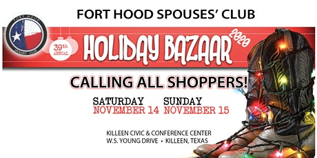 FHSC 39th Annual Holiday Bazaar tickets