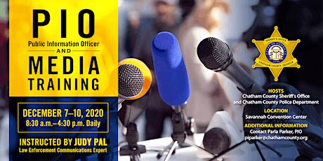 PIO (Public Information Officer) & Media Training tickets