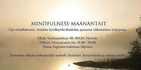 Mindfulness-Maanantai tickets