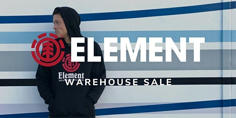 Element Warehouse Sale - October 2020 - Santa Ana, CA tickets