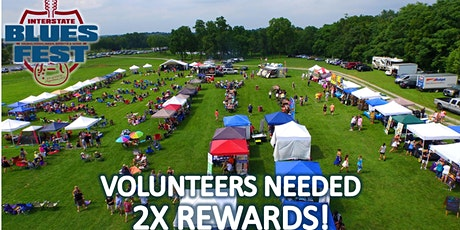 VOLUNTEERS For Interstate Blues Fest feat. Wine, Ciders, Spirits, and Beer tickets