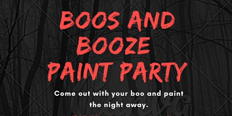 """Boos and Booze"" Paint Party tickets"