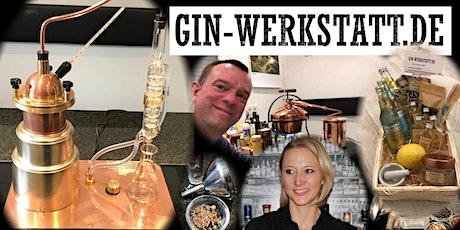 Online-Gin-Brennkurs mit Tasting tickets