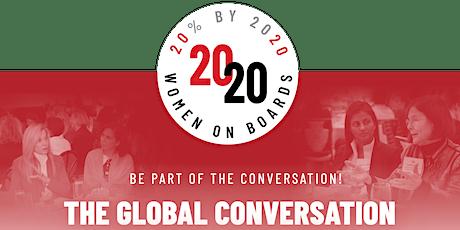 2020 Women on Boards - Conversation on Board Diversity tickets