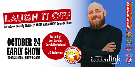 Laugh It Off: An Indoor Comedy Show - Early Set tickets