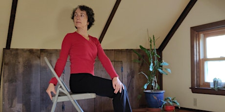 Chair Yoga for Healthy Aging with Eve (5-Class Series) tickets