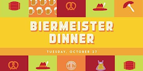Biermeister Dinner tickets