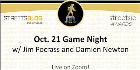 2021 Streetsie Celebration - Game Night with Jim Pocrass and Damien Newton tickets