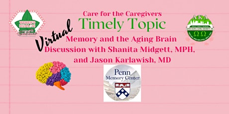 Timely Topic: Memory and the Aging Brain tickets