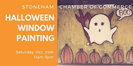 Halloween Storefront Window Painting tickets