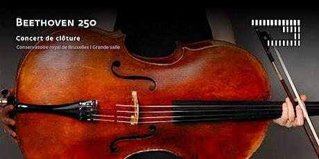 Beethoven 250 - Concert de clôture billets