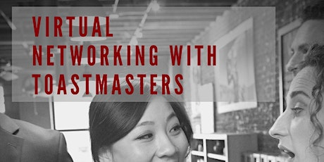 Virtual Networking with Foothills Division for District 26 Toastmasters tickets