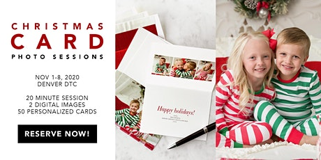 Christmas Pajama Holiday Card Photo Session tickets