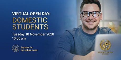 Virtual Open Day: Domestic students tickets