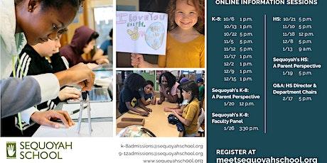 Meet Sequoyah: K-8 Virtual Information Session tickets