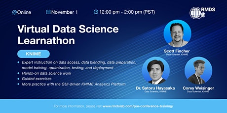 Virtual Data Science Learnathon tickets