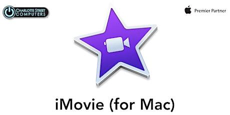 iMovie Basics (for Mac) tickets