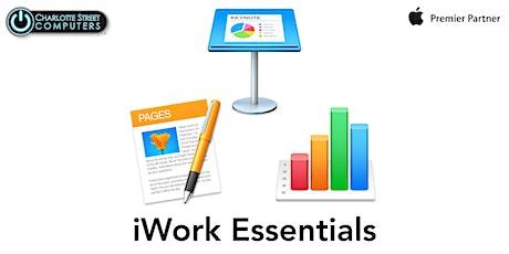 iWork Essentials (for Mac) tickets