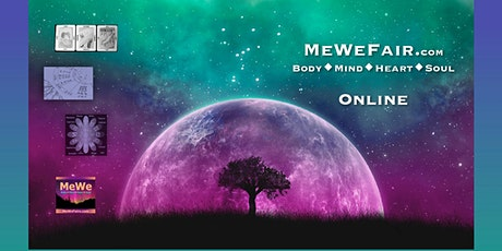 Free Online MeWe Metaphysics Fair for Energizing Body Mind Heart Soul tickets