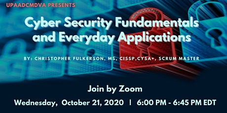 Cyber Security Fundamentals and Everyday Applications tickets