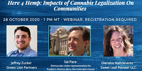 Here 4 Hemp: Community Impacts of Cannabis Legalization tickets