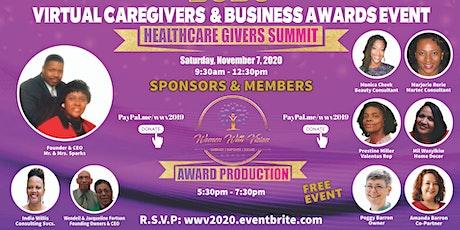 2020 Virtual Caregivers & Business Awards Event tickets