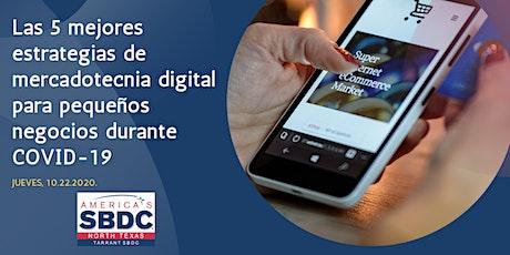 Las 5 mejores estrategias de mercadotecnia digital para pequeños negocios d tickets