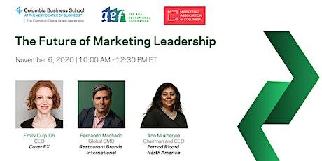 The Future of Marketing Leadership tickets