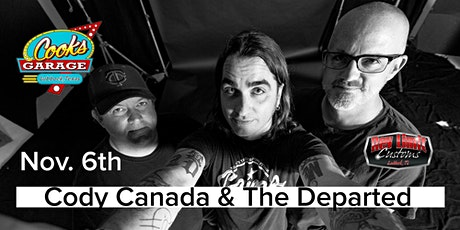 Cody Canada and The Departed tickets