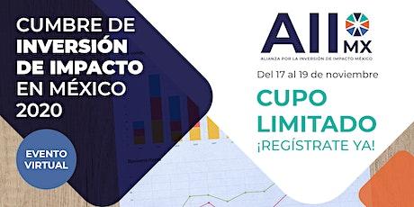 CUMBRE DE INVERSIÓN DE IMPACTO MÉXICO 2020 entradas
