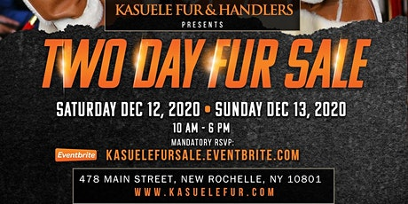 2 DAY FUR & SHEARLING  SALE tickets